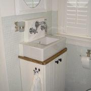 landelijke badkamer meubel