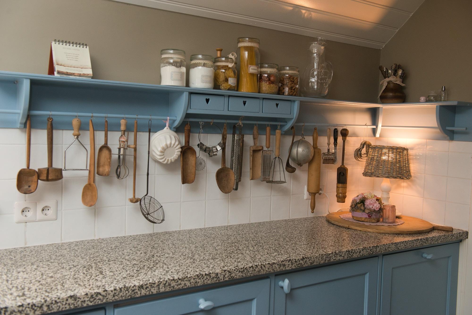 Blauwe Landelijke Keuken : landelijke blauwe keuken categorie keukens
