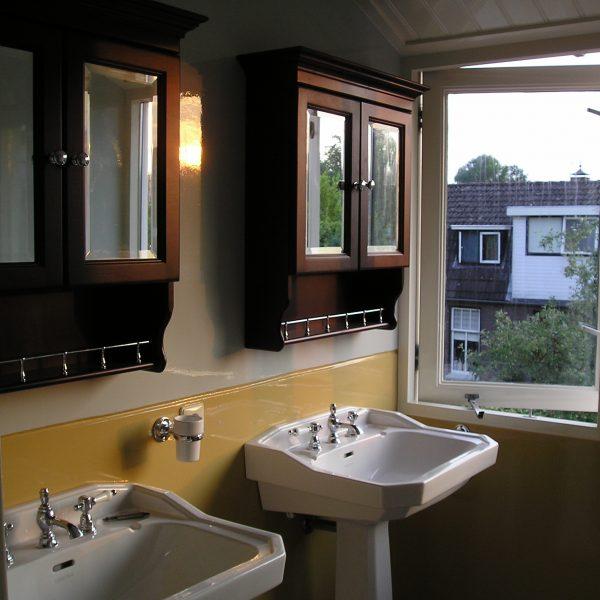 badkamer oude bouwmaterialen