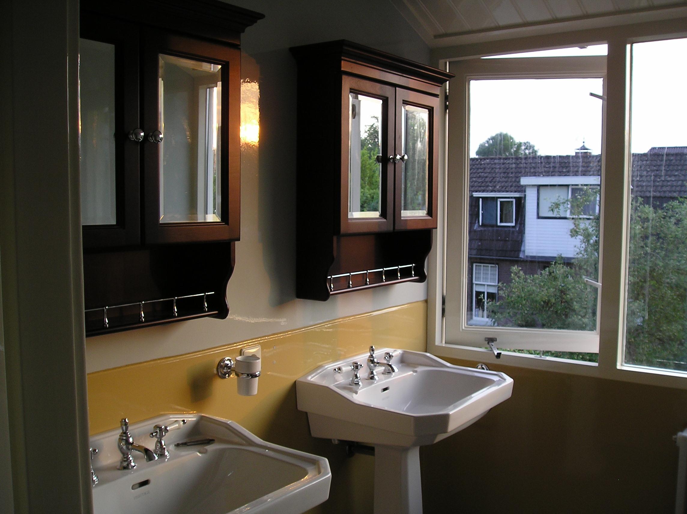 Badkamer oude bouwmaterialen - WJ Oude Bouwmaterialen