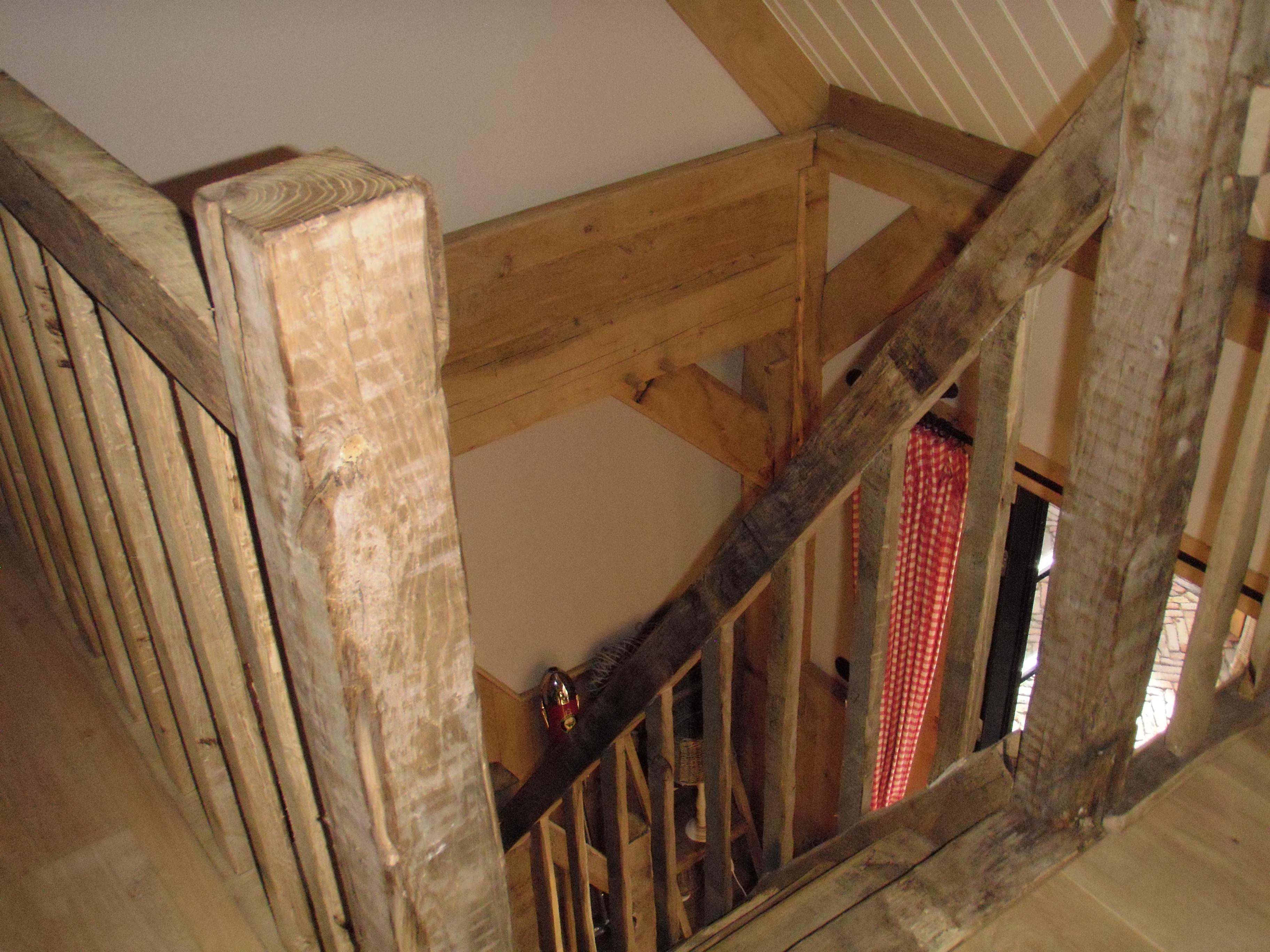 Eiken trap wj oude bouwmaterialen for Trap eiken